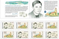 Nová edice poštovních známek připomíná popraveného kněze P. Josefa Jílka z Katovic